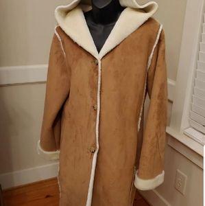 Ralph Lauren Faux Suede Coat
